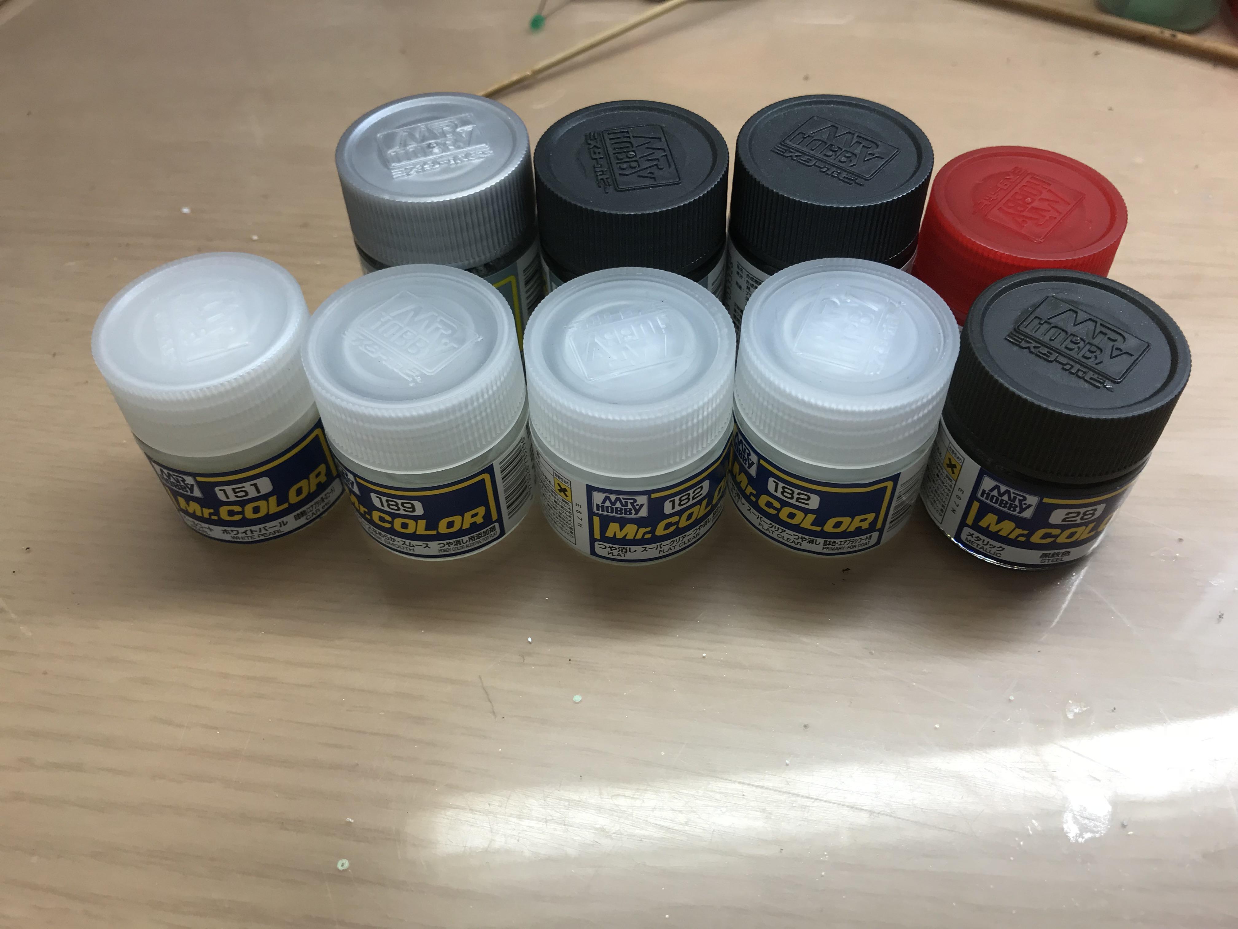ガンプラ塗装の種類